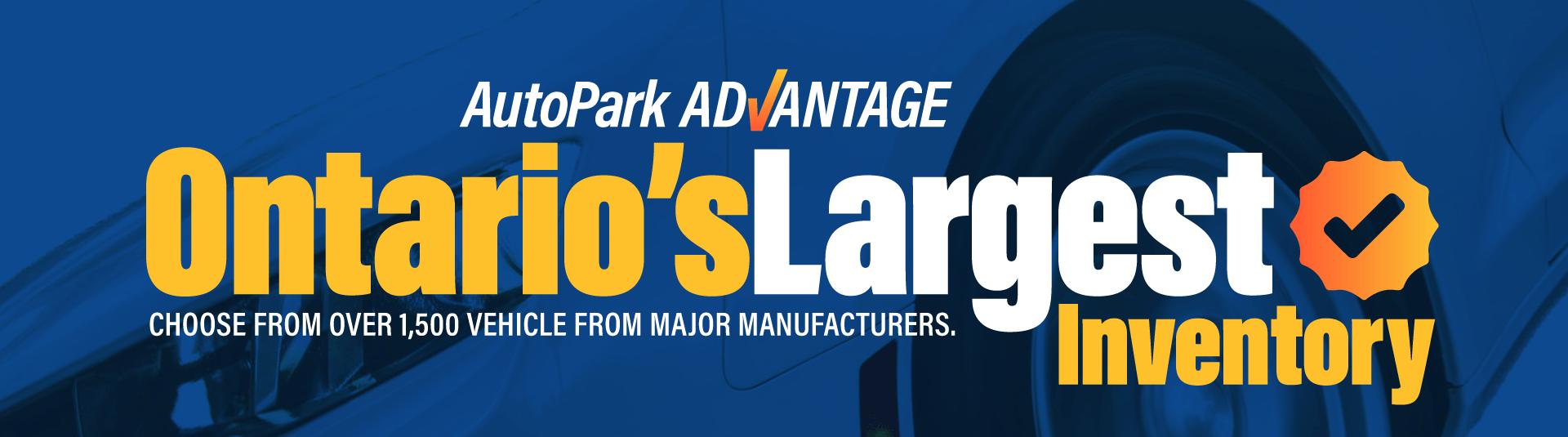 Ontario's Largest Inventory AutoPark Brampton