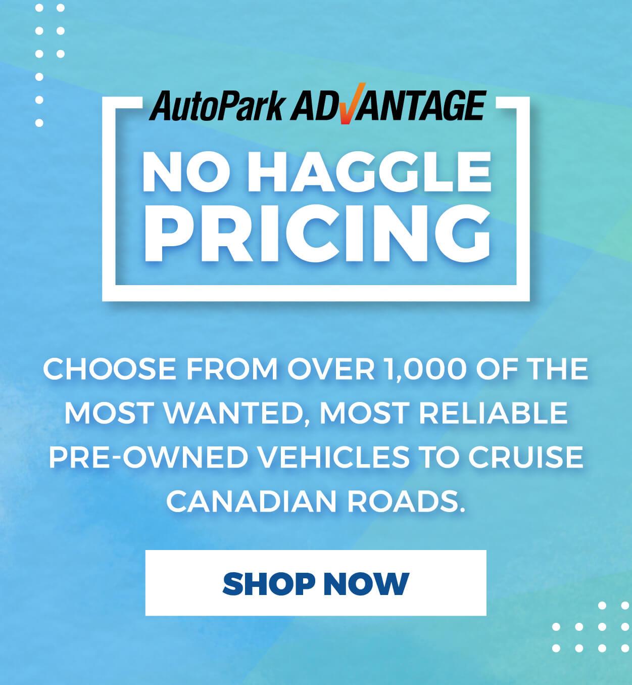 AutoPark - No Haggle Pricing