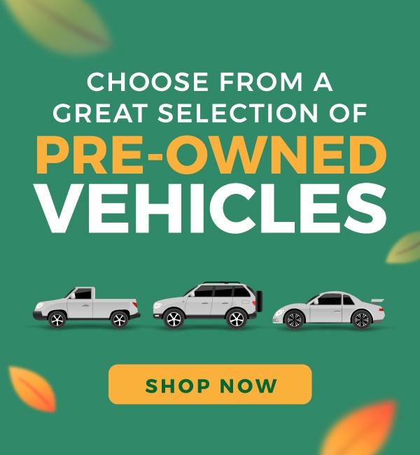 Pre-Owned vehicles in Brampton
